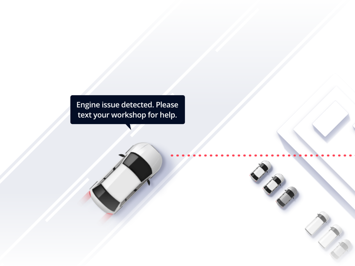 Connected Cars frontpage illustration